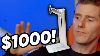Linus Defends Apple's $1,000 Monitor Stand