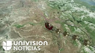 Sigue en vivo el recorrido de Santa Claus en su trineo por e...