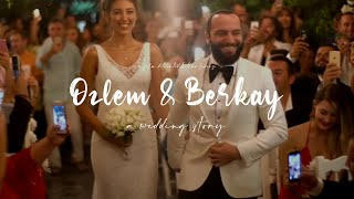 Berkay Şahin ve Özlem Katipoğlu Bodrum Düğün