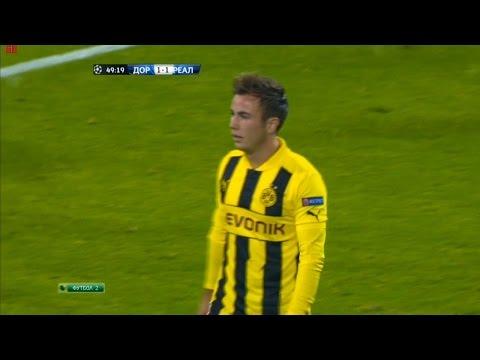 Mario Götze vs Real Madrid (H) 12-13 HD