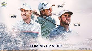 2018 PGA Championship - Live Look-In of Jordan Spieth, Justin Rose and Jon Rahm | Round 2
