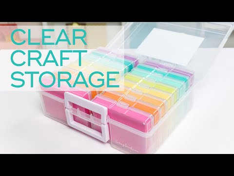 Organize And Store All Your Favorite Craft Supplies | Scrapbook.com Exclusive