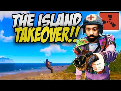 The ISLAND TAKEOVER! - Rust Duo Survival Gameplay