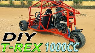 Build a T-REX Three Wheeled Motorcycle 1000cc