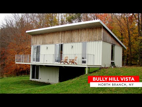 Bully Hill Vista Container Home in North Branch, New York
