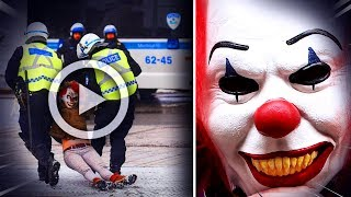IL DÉMASQUE LE CLOWN TUEUR EN DIRECT (Thread Flippant)