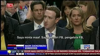 Mark Zuckerberg Minta Maaf di Hadapan Wakil Rakyat Amerika