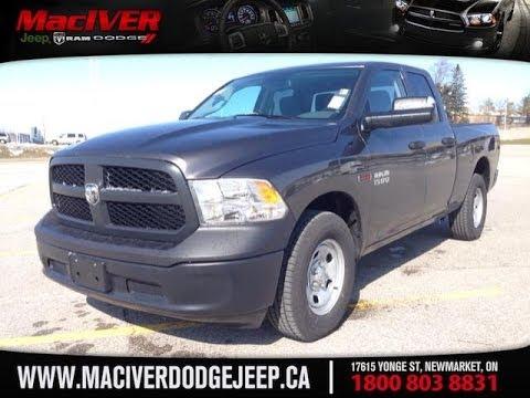 2014 Grey Ram 1500 ST ECODIESEL Newmarket Ontario  MacIver Dodge