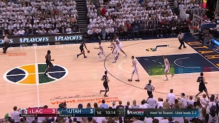 Quarter 1 One Box Video :Jazz Vs. Clippers, 4/28/2017 12:00:00 AM