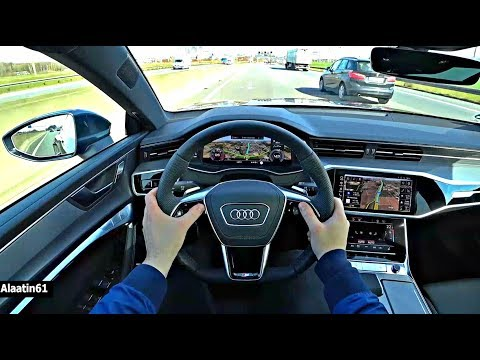The New Audi A7 2019 Test Drive