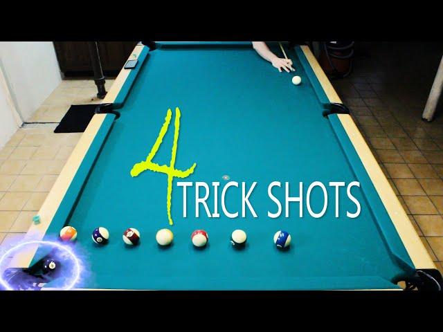 4 Pool Trick Shots: Volume 2