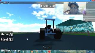 RGD Plays: ROBLOX - Simulateur d'accident de voiture (Tractor Frogger vs Taffic Jam - Life Of Racing Police)