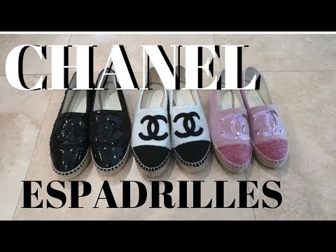 CHANEL ESPADRILLES REVIEW 2018