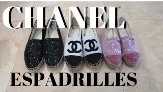 CHANEL ESPADRILLES REVIEW 2018