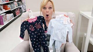 BABY CLOTHES SHOPPING! | BOYS VS GIRLS!
