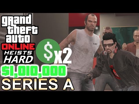 GTA: Online Heists [Hard & Double $] - Series A Funding