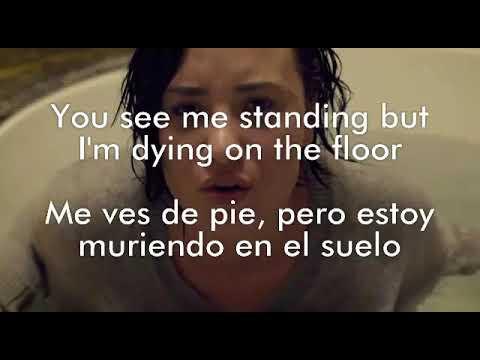 Demi Lovato - Stone Cold (Lyrics/traducción/subtítulos español inglés)