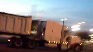 Peterbilt 379 dump truck jake brake
