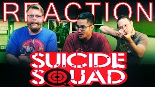 Suicide Squad Trailer REACTION