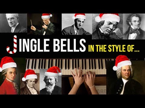 Jingle Bells in Various Classical Composer Styles
