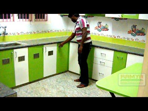 Ramya Modular Kitchen Interiors Valasaravakkam Youtube
