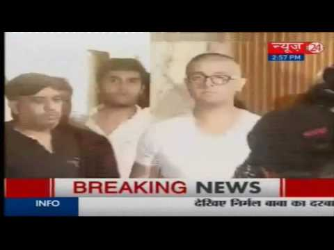 Sonu Nigam shaves head on live television in response to azaan controversy