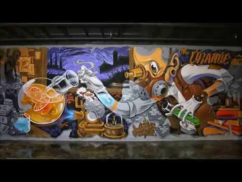 China Graffiti-Jungle x the orange club 2016