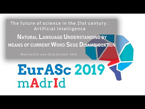 Natural Language Understanding by means of current Word Sense Disambiguation. EurASc 2019 (7)