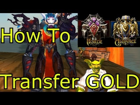 World Of Warcraft WoW Gold How To Transfer Gold Across Factions
