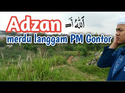 Adzan Merdu Langgam PM Gontor