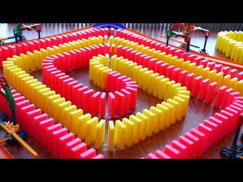 50,000 DOMINOES & CHAIN REACTIONS!