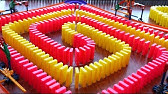 50,000 DOMINOES &amp CHAIN REACTIONS!