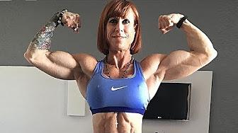 Bodybuilders age 50 over women Stunning Female
