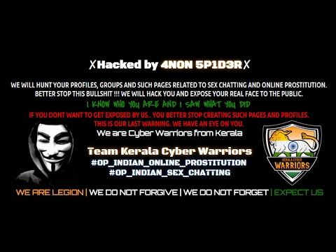 Indian Hackers Hacked into 59 facebook pages and groups #Hacked