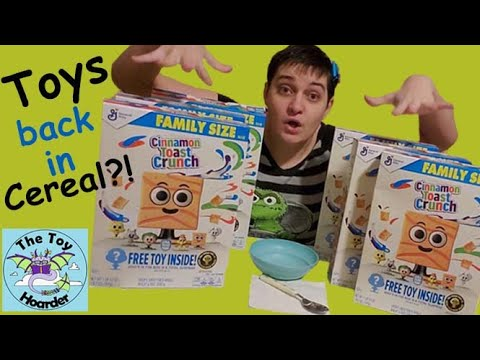 NEW 2020 Cereal Squad Toys In Cinnamon Toast Crunch?! (Part 1)