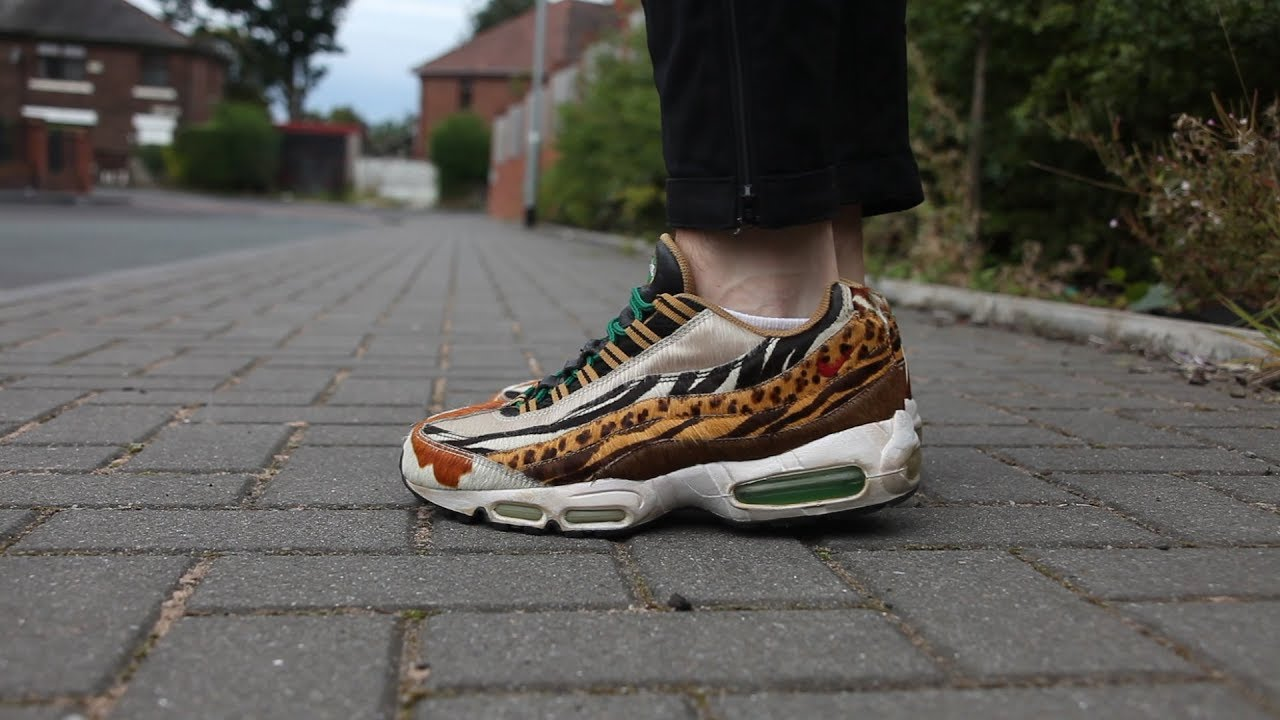 finest selection 0a2dc 8df9e Review Nike Air Max 95 Supreme – Atmos Animal Pack