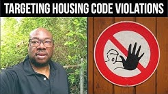 Targeting Housing Code Violations for Huge Profits