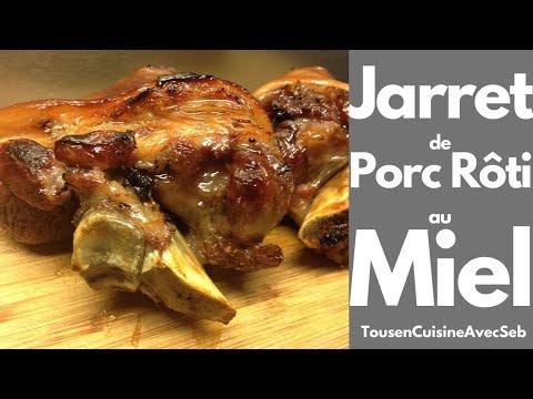 jarret-de-porc-rôti-au-miel-(tousencuisineavecseb)