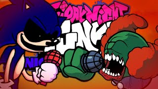 Improbable Slowness/Too Improbable (Sonic.exe vs Tricky) (Madness x Too Slow) [FNF Mashup]