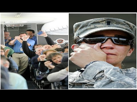 Michael J. - Passenger Gives Up First Class Seat For A Soldier Then This Happened!