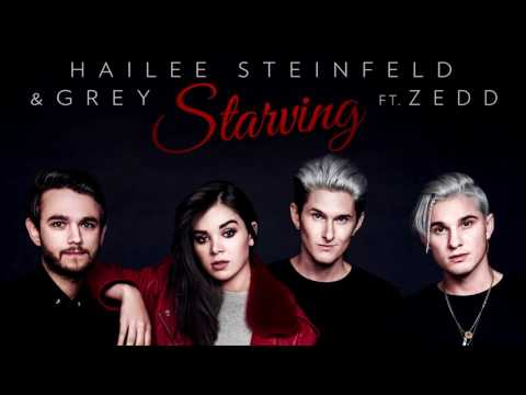 Hailee Steinfeld Grey   Starving ft ...