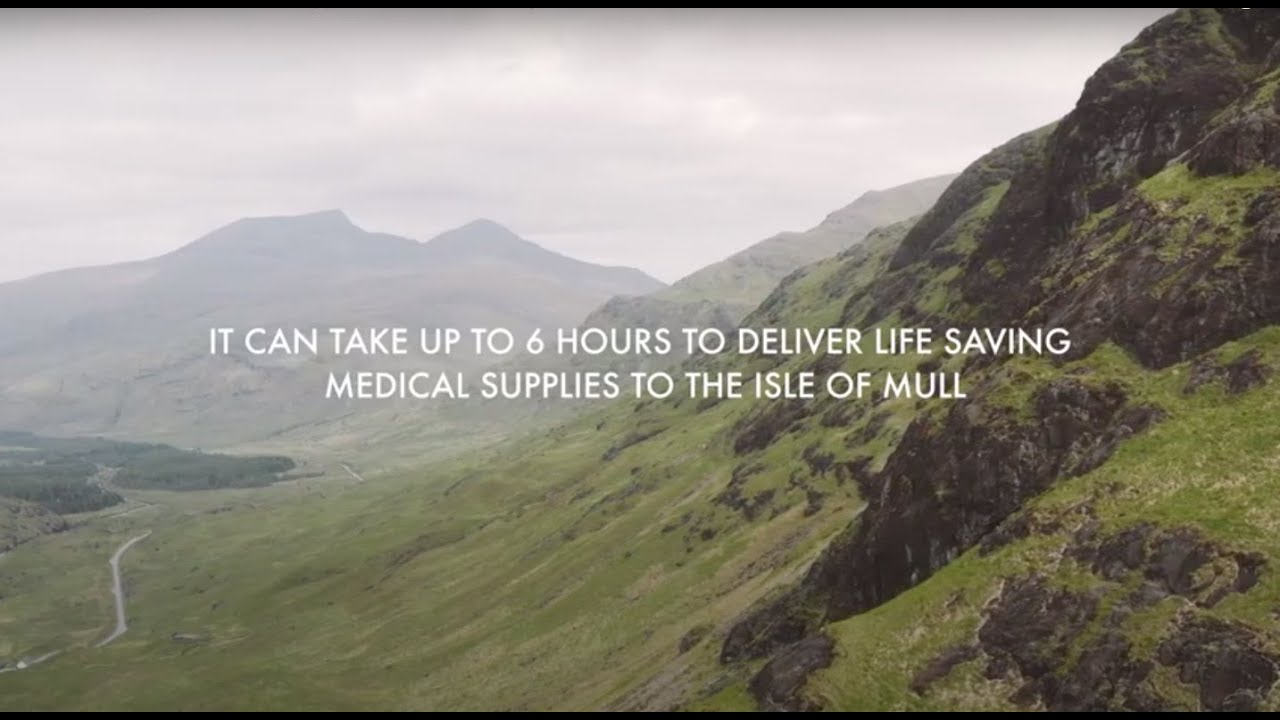 Watch: An inspiring 4 minute video showing the recent drone delivery trials