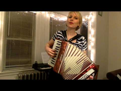 Iron Maiden-- Fear of the Dark on accordion