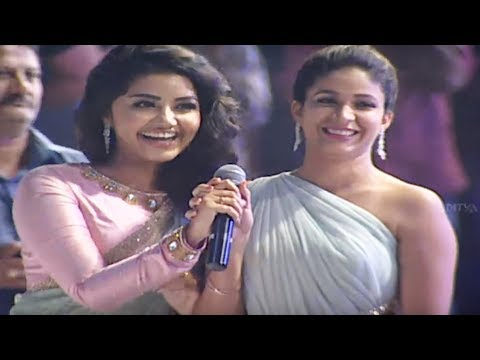 Ram, Anupama, Lavanya, DSP Singing Whatamma Song ||  Vunnadhi Okate Zindagi Audio Launch