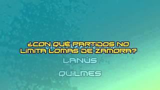 Trivia: ¿Con qué partidos no limita Lomas de Zamora?