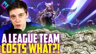 Owner Reveals How Much it Costs to Run a League of Legends Team
