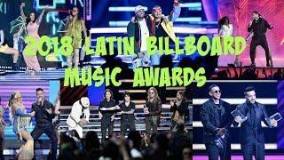 2018 Latin Music Billboard Awards (Daddy Yankee, Bad Bunny, J Balvin, ...