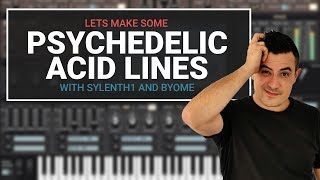 Lets make some psychedelic acid lines