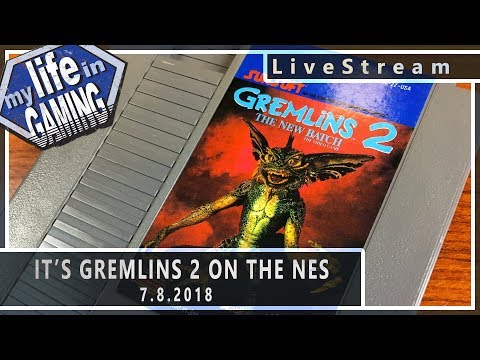 Gremlins 2 The New Batch: The Video Game ::  7.8.2018 LiveStream / MY LIFE IN GAMING - Gremlins 2 The New Batch: The Video Game ::  7.8.2018 LiveStream / MY LIFE IN GAMING