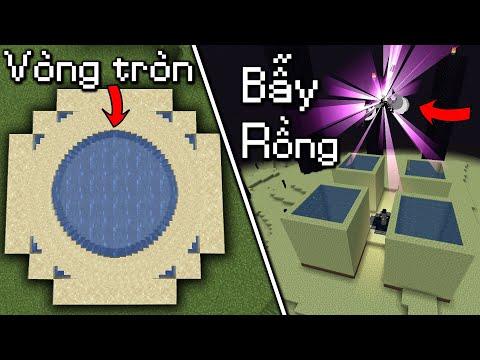 Những Điều Mà Bạn Sẽ Không Thể Tin Nổi Trong Minecraft - Bẫy Diệt Rồng Ender!